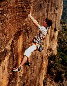 Weigand 1st Ascent - Kid Dynamo, 1981