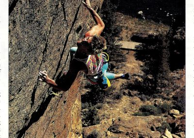 Climbing Magazine - Interview Coaching - Geoff Weigand - 1st Villan 5.14a