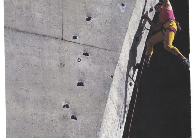 Outside Magazine Feature - Geoff Weigand - LA Freeway 5.12 training route