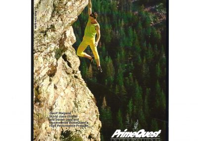 PrimeQuest International Ad - Geoff Weigand Free Solo - Big Cottonwood Canyon Utah