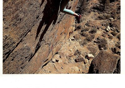 Rock _ Ice Magazine News - Geoff Weigand - 1st Ascent of Villan 5.14a - Smith Rock - 5th USA 5.14