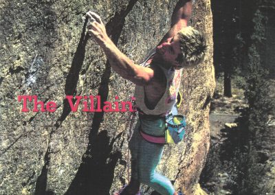 South Korean Climbing Magazine 1990 -Young Chu Interview Geoff Weigand - Photo In the Crux - Villain 5.14a 1st Ascent Smith Rock USA